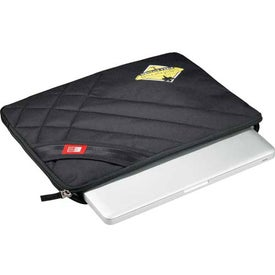 Case Logic Cross-Hatch Laptop Sleeve with Your Logo