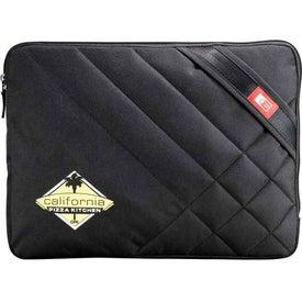 Logo Case Logic Cross-Hatch Laptop Sleeve