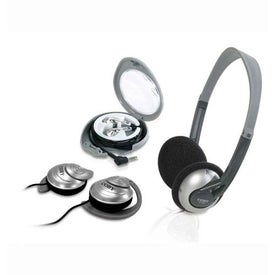 Coby Combo 3in1 Headphones Ear Clip and Ear Phone