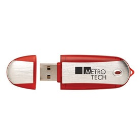 Color Tek USB Flash Drive with Your Slogan