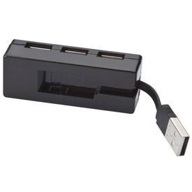 Customized Compact 4-Port USB Hub