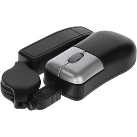 Company Compact Mini-Mouse With Extender And A 2 Port USB Hub