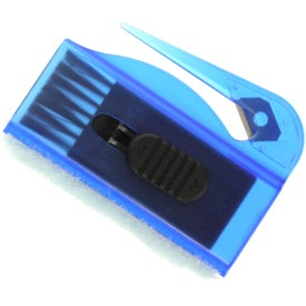 Computer Brush, Sweeper Letter Opener Combo Branded with Your Logo