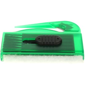 Computer Brush, Sweeper Letter Opener Combo for Advertising