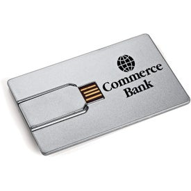 Credit Card Flash Drive Imprinted with Your Logo