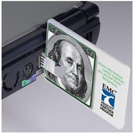Logo Credit Card USB Drive -