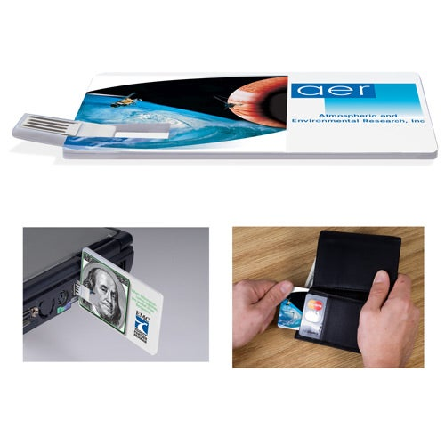 Custom Credit Card Drive USB -