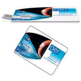 Custom Credit Card USB Drive - Imprinted with Your Logo