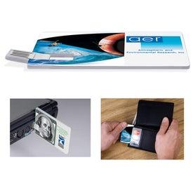 Advertising Custom Credit Card USB Drive -