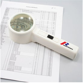 Deluxe Illuminated Magnifier Printed with Your Logo