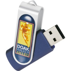 Promotional Domeable Rotate Flash Drive
