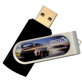 Domeable Rotate Flash Drive (1 GB)