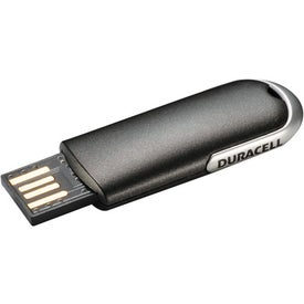Duracell Slider Flash Drive with Your Slogan