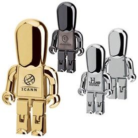 Executive Metal Man USB Drive