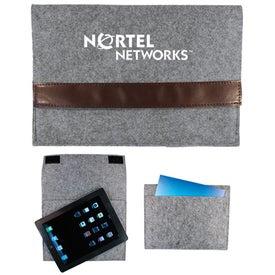 Logo Felt Tablet Sleeves