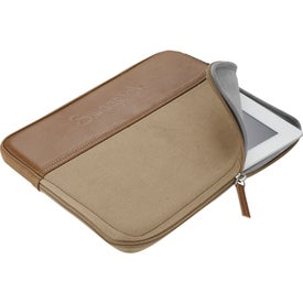 """Field & Co. 10"""" Tablet Sleeve with Your Logo"""