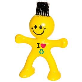 Personalized Flexi Brush Dude