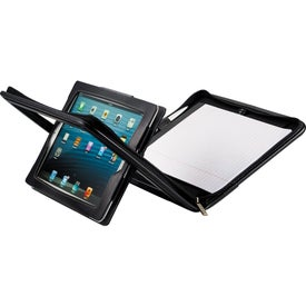 Flip Leather Portfolio For iPad for Advertising