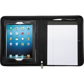 Flip Leather Portfolio For iPad Branded with Your Logo