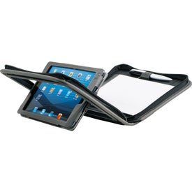 Branded Flip Mini Portfolio For iPad