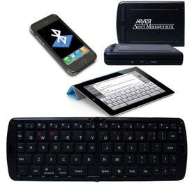 Printed Folding Bluetooth Keyboard