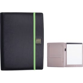 Company Full Size Portfolio with Adjustable Tablet Stand