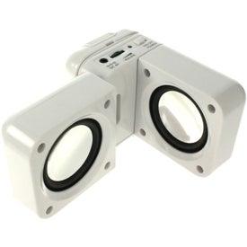 Printed Hi Fi Portable Speaker