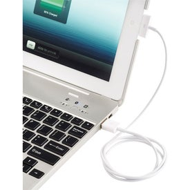 Branded Laptop Conversion Case And Power Bank For iPad 2/3