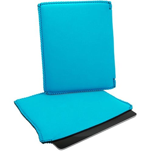 Aqua iPad Sleeve