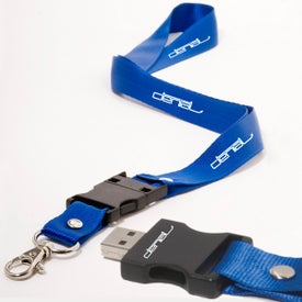 Lanyard USB Memory Drive 2.0 - 1GB for your School