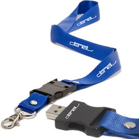 Lanyard USB Memory Drive 2.0 - 4GB for your School