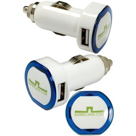 Promotional LED USB Car Charger