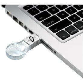 Light Bulb Flash Drive (1GB)