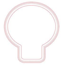 "Fabric Surface Light Bulb Mouse Pad (7.5"" x 8.25"" x 0.0625"")"