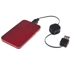 Low Carb Light Up Mouse with Zippered Mouse Pad for Promotion