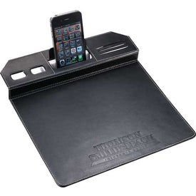 Company Metropolitan Mouse Pad With Phone Holder