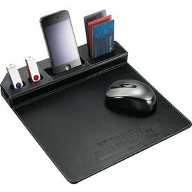 Custom Metropolitan Mouse Pad With Phone Holder