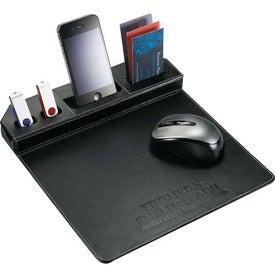 Custom Metropolitan Mouse Pad With Phone Holder
