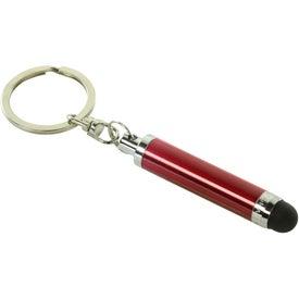 Customized Mini Stylus With Key Ring