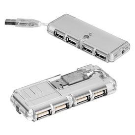 Company Mini USB 4-Port Hub 1.1