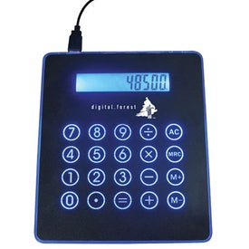 Mouse Pad/Calculator USB Hub