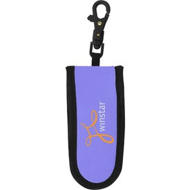 Neoprene Flash Drive Case Imprinted with Your Logo