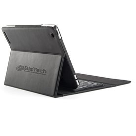 Nova Bluetooth Keyboard iPad Case for Advertising