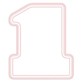 """Fabric Surface Number One Mouse Pad (1/16"""")"""