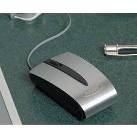 Custom Optical Mini Mouse with Retractable USB Cord