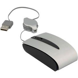 Printed Optical Mini Mouse with Retractable USB Cord