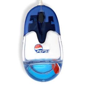 Optical USB Custom Floater Liqui-Mouse for Marketing