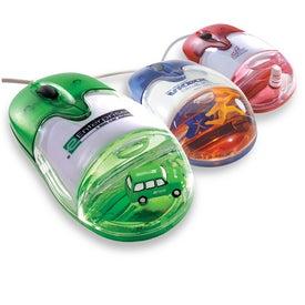 Promotional Optical USB Custom Floater Liqui-Mouse