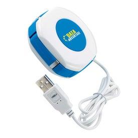 Custom Orb Twist 4 Port USB 2.0 Hub