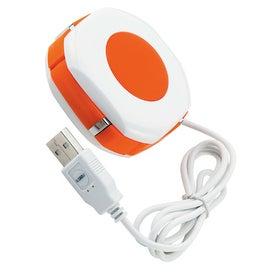 Orb Twist 4 Port USB 2.0 Hub for Marketing